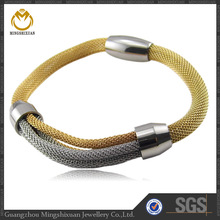 supplies for jewelry magnetic bracelet corporate executive gift pvd coating