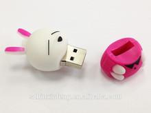 Best buy business gift promotional gift Mashimaro rabbit USB flash drives 128M-128GB