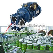gear reducer for conveyor machine for grain silo