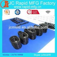 low volume production. vacuum cast rubber seals