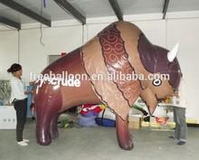Custom made inflatable bull, bull balloon, cartoon air balloon