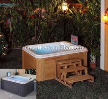 Hot selling SAA TUV outdoor spa installation