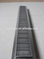 Hot Sales B Series Tiled On Flange Rectangular Floor Drain Grills
