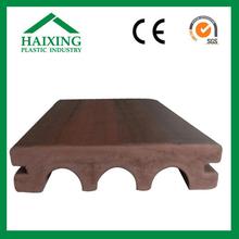 wood plastic composite flooring for wall panel composite decks CE,SGS,ani-UV