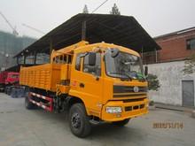5Tons bucker crane truck rotating platform car,car crane