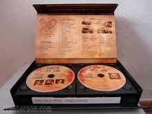 High quality Glossy lacquer wooden cd case