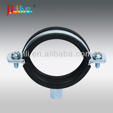 M8+10 RUBBER LINED SPLIT PIPE CLAMP