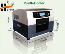 A4 digital textile printer with free rip software provide hefei Haiwn-T400