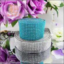 crystal rhinestone diamond mesh ribbon rolls