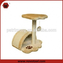 2014 popular cat tree manufacturer 2 crazy cat toy