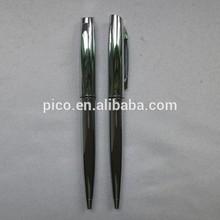 Bright chrome metal ball pen made of high quality material B2436-1