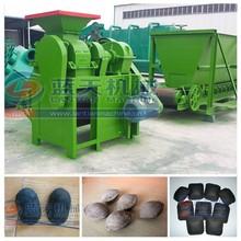 Four rollers durable coal/charcoal ball press machine/coal briquette making machine