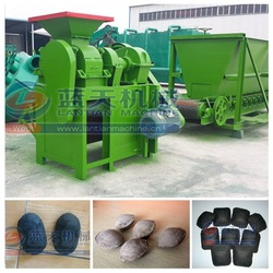 Four rollers durable coal/charcoal ball press machine/coal briquette making machine