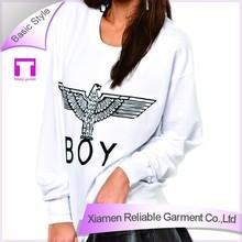 Sublimation women's long sleeve luminous hoodies