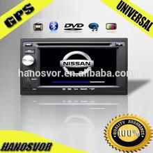 HANOSVOR Factory Directly Sale Universal Car DVD Player GPS Radio Audio Bluetooth Hand Free Call System