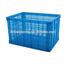 Plastic food grade vegetable storage basket/picnic baskets for sale