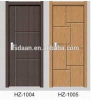 2014 hotel furniture pvc door wood vent for doors