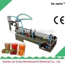 Best selling semi-automatic liquid filling machine for liquid chrome paint