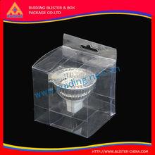 Acetato de alta calidad cajas de embalaje transparente, de acetato transparente cajas de regalo