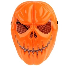 Pumpkin Style Cool Monster PVC Mask for Halloween