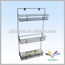 Household metal make up bathroom rack stand furniture for bathroom