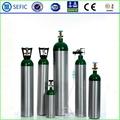 سلس الضغط العالي الأوكسجين الألومنيوم 10l أسطوانات التنفس