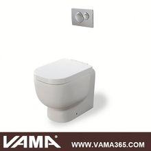 Two Piece Ceramic Dark Brown Toilet