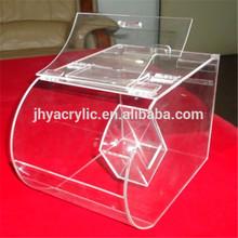 Merchandise swivel acrylic candy dispenser box