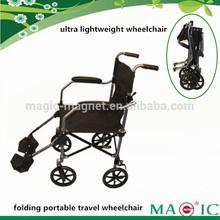 2014 factory lightweight folding travel transport wheelchair carry bag provided