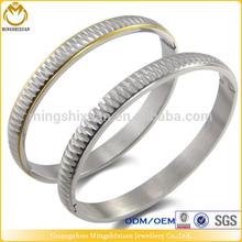 Fashion stainless steel latest design model bangle,wholesale tourist souvenir gift