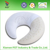 Eco-friendly Travel Neck Pillow Muscle Relief Natrual Latex Foam Pillow