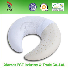 Travel Neck Pillow Muscle Relief Natrual Latex Foam Pillow