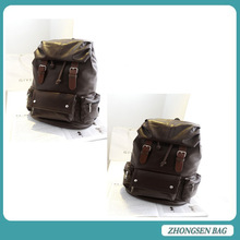 PU Leather Fashion design women's backpack