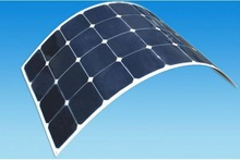 flexible solar panel, bendable solar panel
