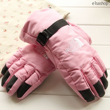 Winter new arrival waterproof thermal thickening sports ski gloves