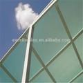 Polycarbonate feuille de couverture transparente
