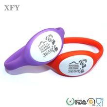 New coming 125KHz TK4100 ultra light rfid wristband bracelet for smart poste oval shape