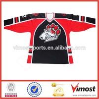 Youth ice hockey jersey/Ice hockey jersey China manufacturer