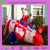 Christmas led decoration, oxford cloth inflatable christmas decoration