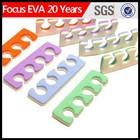 plastic toe separator /nail art toe foam separator supplier