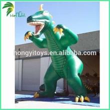 horrible inflatable dinosaur king