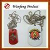 High quality dog tags/custom plastic dog tags