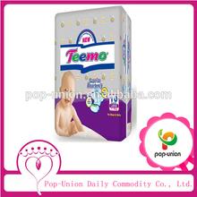 Desechables de algodón europea backsheet pañales para bebés, china hizo de mimos desechables pañales, venta al por mayor de productos para bebés