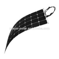 flexible solar panel 100W 12V batter charger