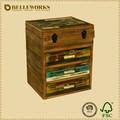 Reciclado indiano móveis barato caixa de madeira madeira velha peito