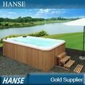 Outdoor hs-s04y spas banheiras quentes/banheira quente ao ar livre/fibra de vidro piscina/whirlpool piscina nadar spa