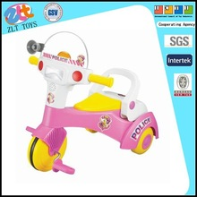 Plastic pushing baby car children toy car 3 wheel children car