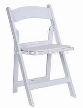 2014 Hot Sale White Plastic Wedding Folding Chair HC-P017