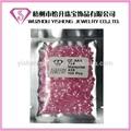 china caliente de la venta de calidad facetas melocotón aaa cz de circonio de piedra piedras preciosas