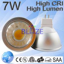 reflector 12v mr16 7W 650lm 2700-6500K gu5.3 mr16 led spotlight ce rohs ul